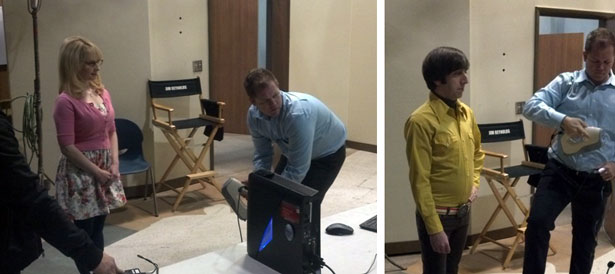 Artec 3D Scanner Big Bang Theory Behind the Scenes