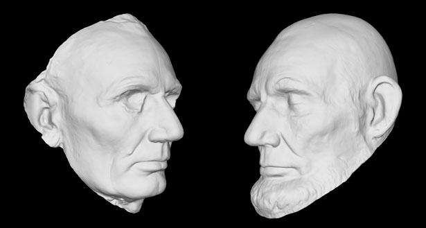 Lincoln LifeMasks Smithsonian X 3D