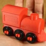 Microsoft 3D Printing App 3D Printed Train