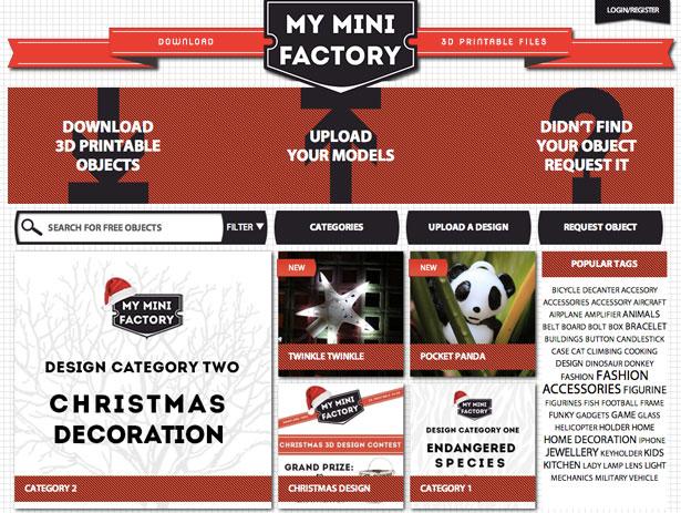 MyMiniFactory Design Contest