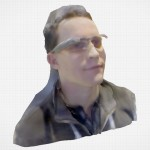 3D Systems Sense Scan Google Glass