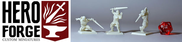 Hero Forge Custom Miniatures