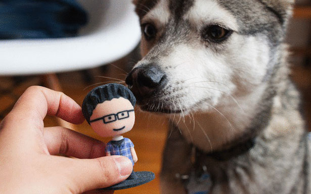 Mixee Labs 3D Printed Bobbler Dog