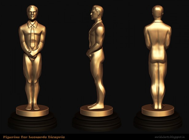Figurine for Leo Oscar