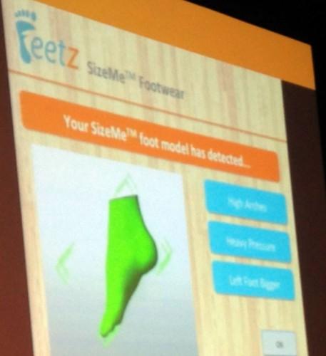 Feetz SizeMe Startup